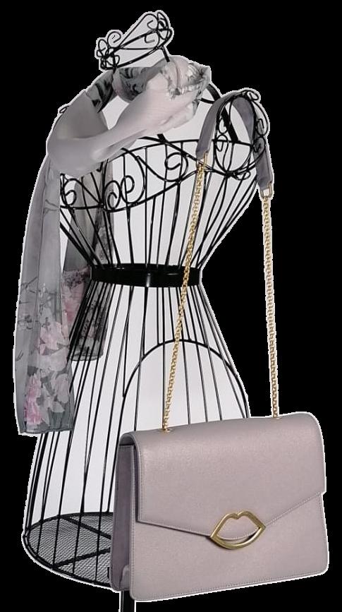 Lulu Guinness Leila Handbag in Lavender Lilac