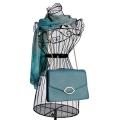 Lulu Guinness Leila Handbag in Aqua Blue