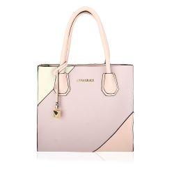 Purple pink tote bag